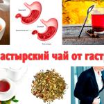 Монастырский чай от гастрита